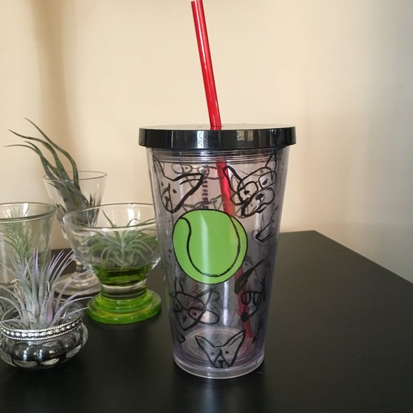 Limited Edition STARBUCKS 2014 Doodle Dogs Tumbler